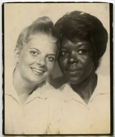 How long did their friendship go on?    Photobooth from the collection of Angelica Paez.