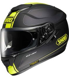 Shoei GT Air Wanderer black/yellow