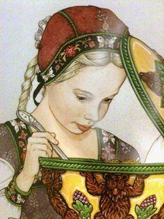 Goldilocks- Jan Brett