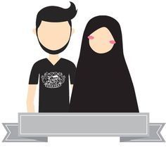 Images of muslim cute couple pic cartoon - Muslim Family, Muslim Girls, Muslim Couples, Muslim Women, Islamic Posters, Islamic Art, Cute Couple Pic Cartoon, Anime Couples, Cute Couples