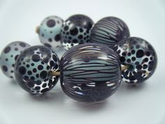 Your place to buy and sell all things handmade Glass Jewelry, Glass Beads, Homemade Cosmetics, Lampwork Beads, Different Shapes, Color Schemes, Eye Candy, Glass Art, Lampworking