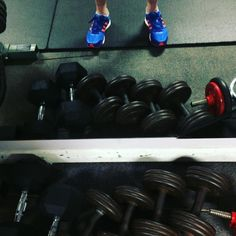 I'm back with my old friends the free weights at the gym - all grown-up again. (at White hart hotel lewes) Free Weights, Gym Equipment, Photographs, Photos, Workout Equipment
