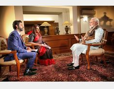 Indian PM Modi speaks to Times Now
