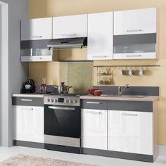 Virtuvės komplektas MODENA 220 Kitchen Cabinets, Home Decor, Decoration Home, Room Decor, Cabinets, Home Interior Design, Dressers, Home Decoration, Kitchen Cupboards