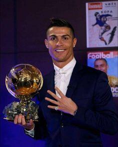 Cristiano Ronaldo 4th BALLON D'OR