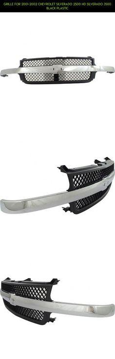 Grille For 2001-2002 Chevrolet Silverado 2500 HD Silverado 3500 Black Plastic #chevy #plans #kit #technology #fpv #shopping #racing #grills #parts #products #2001 #silverado #gadgets #drone #camera #tech