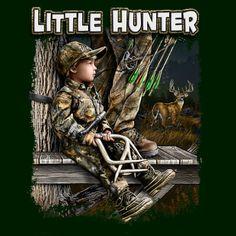 Hunting Boy... My Little Hunter Grandpa Style.