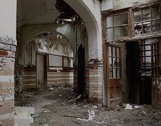 DENBIGH ASYLUM, Denbigh, North Wales.
