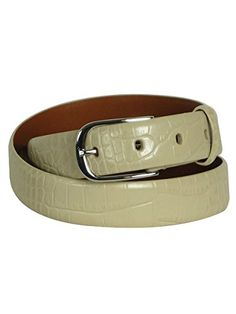 Ralph Lauren Womens Belt Leather Croco Texture Stone XLarge -- Read more at the image link.