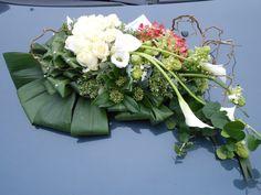 funeral flowers by Diana Van Hemelrijck