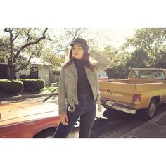 Model Alyssa Miller in our Understated LeatherXFLL Moto Jacket