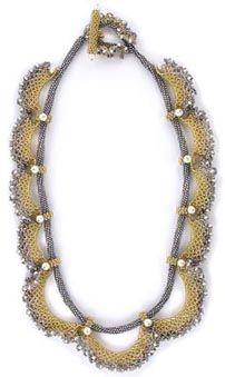 Circlet of Lace Necklace Kit ©2006 by Cynthia Rutledge