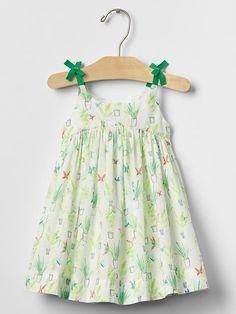 Garden bow dress