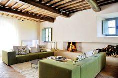 Family Vacation Rental | The Podere Palazzo | Trevinano | Kid & Coe Style Toscan, Mediterranean Home Decor, Belle Villa, Boutique Homes, Interior Decorating, Interior Design, Tuscan Style, Design Moderne, Contemporary Interior
