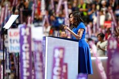 Pin for Later: Here's Why Michelle Obama's DNC Dress Choice Was an Extremely Smart One It Didn't Distract From Her Powerful Words