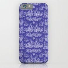 Chevron Toile, Purple Slim Case iPhone 6s
