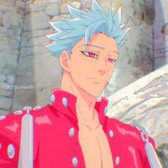 Seven Deadly Sins Anime, 7 Deadly Sins, Diabolik Lovers, Guy Sensei, Ban Anime, Seven Deady Sins, Estilo Anime, Anime People, Hot Anime Guys