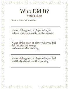 Host a murder mystery party in three steps. The author of this guide has written scripts that over 4,000 people have used to host their own parties. This guide will help you throw yours too! #murdermysteryparty