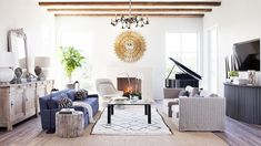 Home Tour: Tasteful and Timeless in Austin via @domainehome