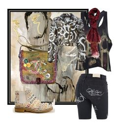 Graffiti one by suziq-lthrs on Polyvore featuring Faith Connexion, Moschino, Gaëlle Bonheur, Chanel, Tiffany & Co. and Vivienne Westwood