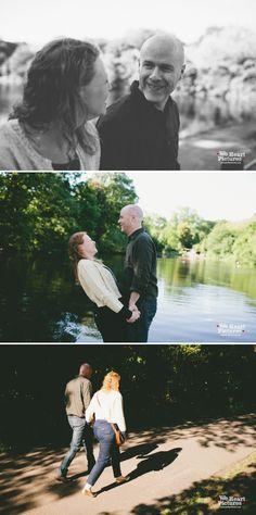 Hampstead Heath Engagement Shoot | London Alternative Wedding Photographer |
