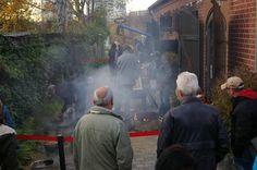 Schaubrand im Rahmen des 9.Kunst- & Keramikmarktes 2014 in Alt-Marzahn