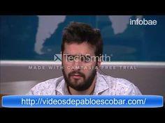 Juan Pablo Escobar Enojado por Las Series Sobre su Padre - YouTube