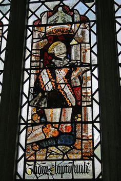 Some of the oldest medieval stained glass windows in the UK are at Holy Trinity Church, Long Melford, Suffolk