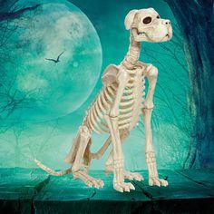 outdoor halloween decoration yard decor dog indoor haunted house poseable head