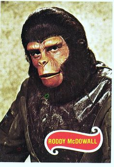 Planet Of the Apes ( T.V. series ) Roddy McDowall