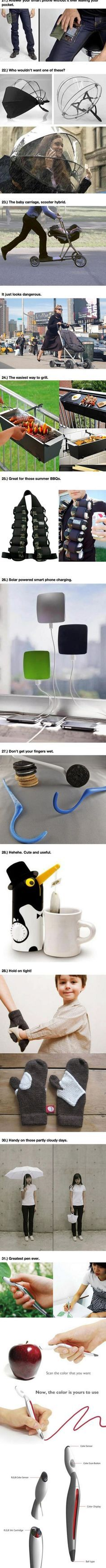 31 Incredible Inventions That May Change Your Life (21 - 31) #28 is so cute!
