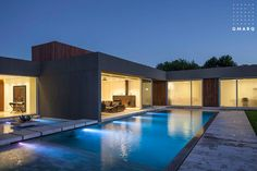 Casa PR de 520 m2 estilo actual racionalista en Buenos Aires, Parque Leloir, Barrio El Casco del estudio de arquitectura GMARQ Govetto Mansilla Arquitectos
