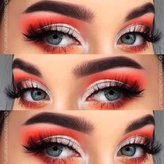 34 Trendy Makeup Looks Fall Make Up Skin Makeup, Glam Makeup, Makeup Inspo, Makeup Eyeshadow, Makeup Inspiration, Beauty Makeup, Makeup Ideas, Makeup Art, Makeup Tips