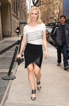 Jennie Garth was spotted out and about in New York on March 5, 2014.