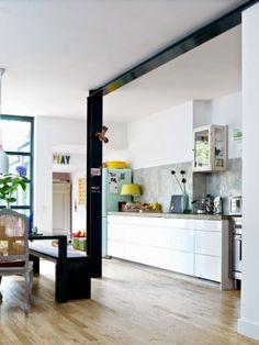 wooden kitchen kitchen pinterest schlichte k chen arbeitsplatte und schlicht. Black Bedroom Furniture Sets. Home Design Ideas