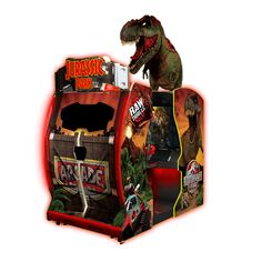 In Jurassic Park Arcade you must rescue the dinosaurs on an island run amok! Use your high-powered tranquilizer gun to subdue menacing dinosaurs. Jurassic Park Theme Park, Jurassic Park Logo, Holiday Gift Guide, Holiday Gifts, Arcade Games For Sale, Cv Web, Jurrassic Park, Arcade Game Machines, Arcade Machine