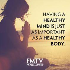 Healthy mind, healthy body... How do you balance the two?  www.fmtv.com #FMTV
