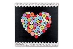 Heart Button, Origami, Crafts For Kids, Activities, Gifts, Painting, Fingers, Bouquets, Mothers