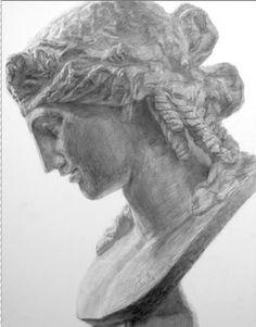 東京芸術大学や多摩美術大学など受験対策の美術予備校   東芸美術研究所 【神奈川県・東京都】 Basic Drawing, Still Life, Graphic Art, Roman, Arts And Crafts, My Arts, Drawings, Statues, Charcoal