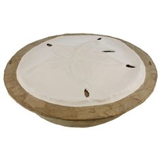 Sand Dollar Serenity Biodegradable Cremation Urn for Ashes | www.stardust-memorials.com #eco #environment #biodegradable