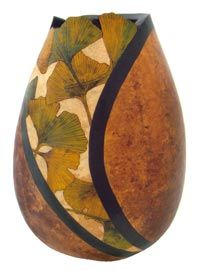 The Browning House, gourd art