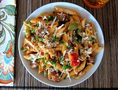 Instant Pot Pasta - Penne Sausage Tomato Cream L 3- Paint the Kitchen Red