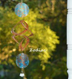 Zodiac Garden Wind Spinners   BreezeWay Arts