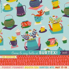print & pattern: SURTEX 2015 - forest foundry