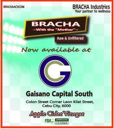 BRACHA Apple Cider Vinegar is now available at Gaisano Capital South, Colon St corner Leon Kilat St. Cebu City, Acv, Apple Cider Vinegar, Health Benefits, Corner, Apple Vinegar, Cebu, Cider Vinegar