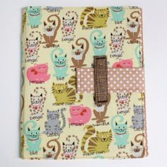 Cute iPad Cover Hardcover iPad Case iPad 3 Cover by sewingamity, $40.00