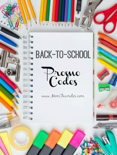 Before you start your back to school 2015 shopping, don't miss out on the back to school promo codes for some of your favorite shops!