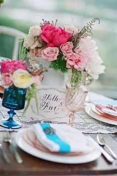 wedding table number garden wedding