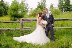 Bride and Groom, Orillia Wedding