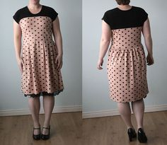 easy-tee-dress-add-a-skirt-to-a-shirt-sewing-tutorial-directions.jpg (650×567)